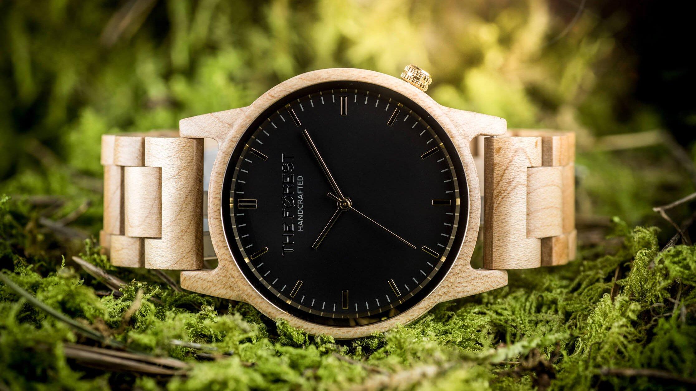 Drewniane zegarki THE FOREST